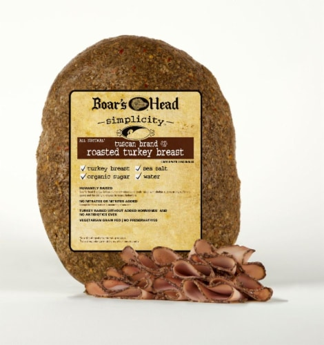Boar's Head Simplicity All Natural Tuscan Brand Roasted Turkey Breast Perspective: front