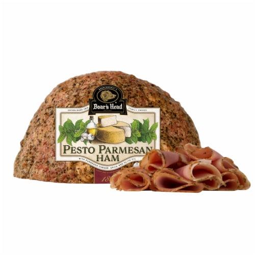Boar's Head Pesto Parmesan Ham Perspective: front
