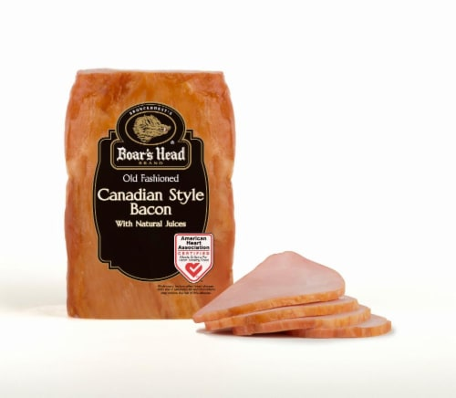 Boar's Head Canadian Style Bacon Perspective: front