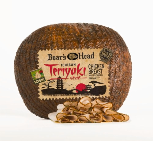 Boar's Head Ichiban Teriyaki Style Boneless Skinless Chicken Breast Perspective: front