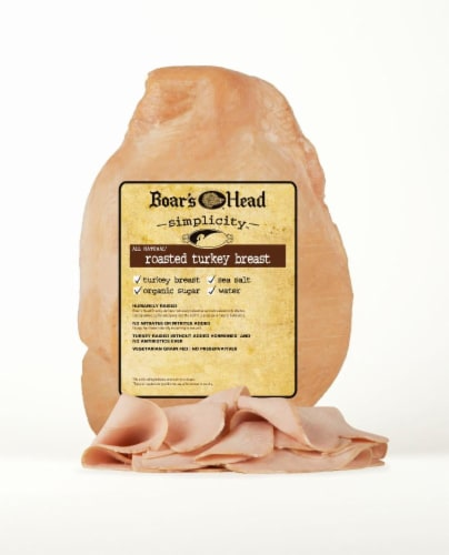 Boar's Head Simplicity All Natural Roasted Turkey Breast Perspective: front