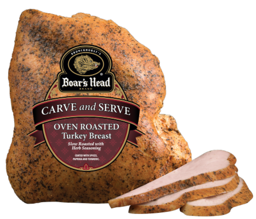 Boar's Head Carve & Serve Oven Roasted Turkey Breast Perspective: front