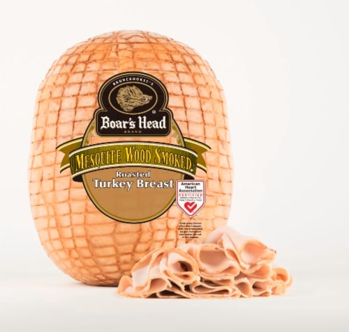 Boar's Head Mesquite Wood Smoked Turkey Breast Perspective: front