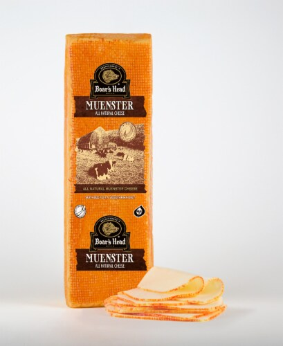 Boar's Head Muenster Cheese Perspective: front