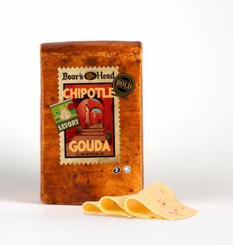 Boar's Head Chipotle Gouda Cheese Perspective: front