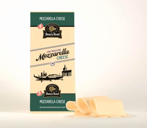 Boar's Head Mozzarella Cheese Perspective: front