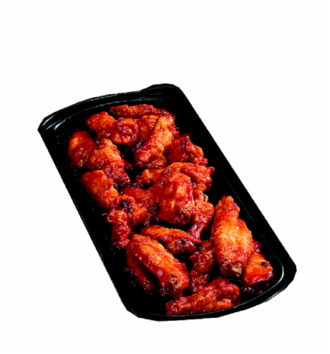 Fresh Foods Market Roasted BBQ Wings Cold Perspective: front