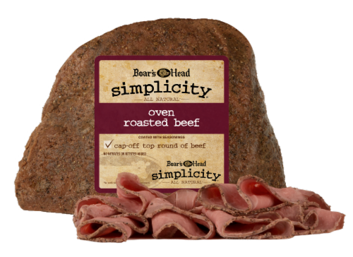 Boar's Head Simplicity Oven Roasted Beef Perspective: front