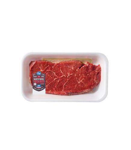 Beef Choice Boneless Top Round Steak Perspective: front
