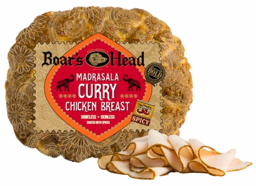 Boar's Head Madrasala Curry Chicken Breast Perspective: front