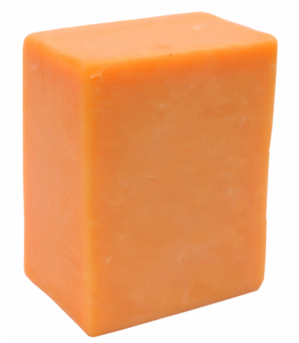 Extra-Sharp Cheddar Cheese Perspective: front