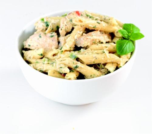 Chicken Caesar Pasta Salad Perspective: front