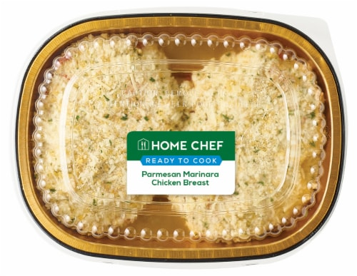 Home Chef Parmesan Marinara Chicken Breast Perspective: front