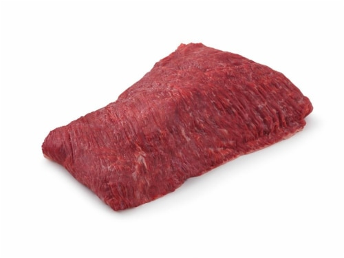 Marinated Beef Flap Meat Perspective: front