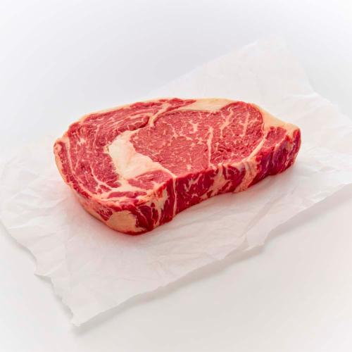 Beef Prime Boneless Ribeye Steak (1 Steak) Perspective: front
