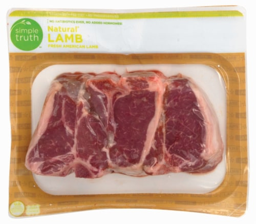 Simple Truth™ Natural Lamb Loin Chops Perspective: front