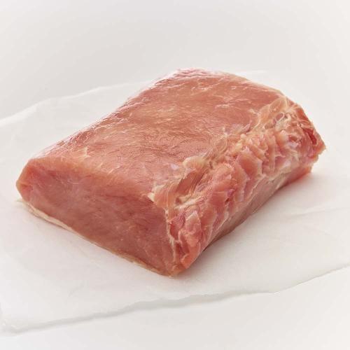 Pork Boneless Half Loin Perspective: front