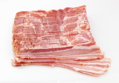 Pork Sliced Applewood Smoked Bacon (From Fresh Meat Counter) Perspective: front