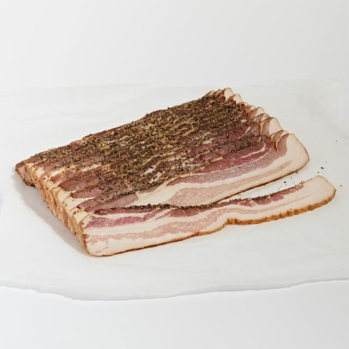 Hempler Pepper Bacon (From Service Meat Counter) Perspective: front