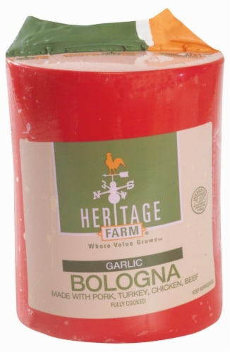 Heritage Farm™ Garlic Bologna Perspective: front