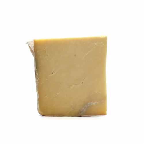 Murray's® Clothbound Cheddar Mature Cheese (sold in ½ pound units) Perspective: front