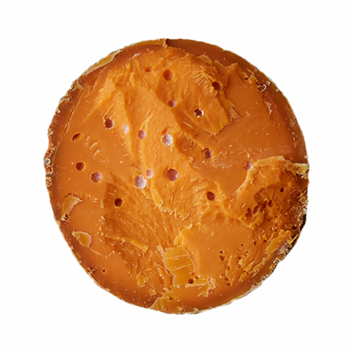 Isigny Mimolette Cheese Perspective: front