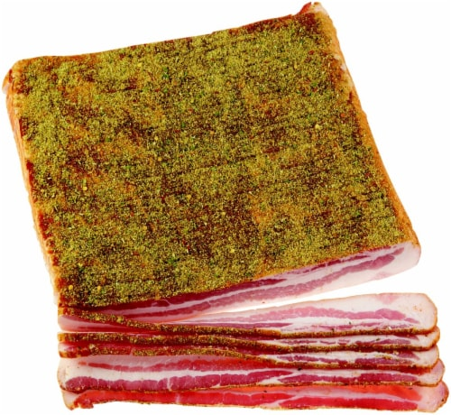 Private Selection™ Peppercorn Sea Salt Bacon Perspective: front