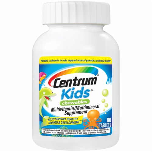 Centrum Kids Chewable Multivitamins Perspective: front