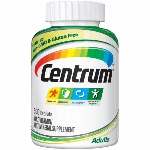 Centrum Adult Multivitamin & Multimineral Supplement Tablets Perspective: front