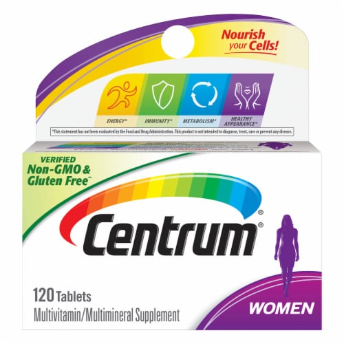 Centrum Women Mulitvitamin / Multimineral Supplement Tablets Perspective: front