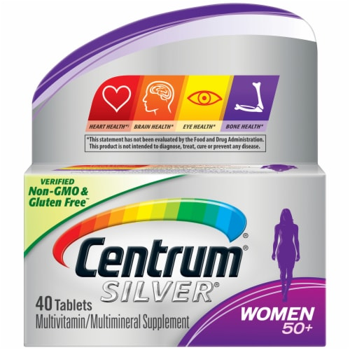 Centrum Silver Women's 50 Plus Multivitamin Perspective: front