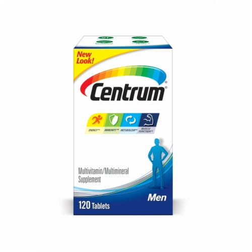 Centrum Men Multivitamin & Multimineral Supplement Tablets Perspective: front
