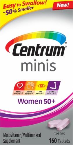 Centrum® Women's 50+ Multi-Vitamin Mini Tablets Perspective: front
