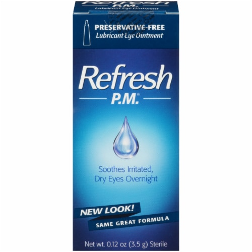 Refresh P.M. Lubricant Eye Ointment Perspective: front