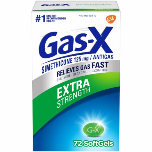 Gas-X Extra Strength Antigas Softgels Perspective: front