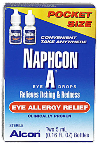 Naphcon A Eye Allergy Relief Perspective: front