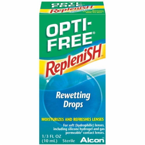 Opti-Free Replenish Rewetting Drops Perspective: front