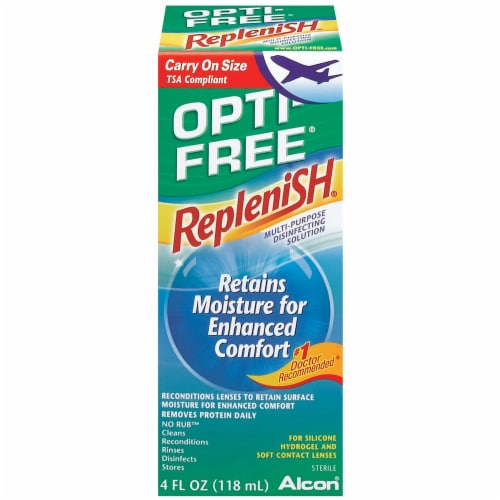 Opti-Free Replenish Solution Perspective: front