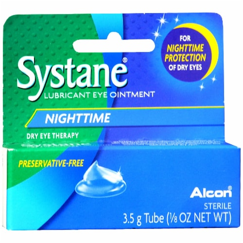 Alcon Systane Nighttime Lubricant Eye Ointment Perspective: front