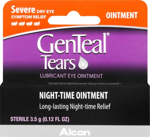 Genteal Tears Night Time Lubricant Eye Ointment Perspective: front