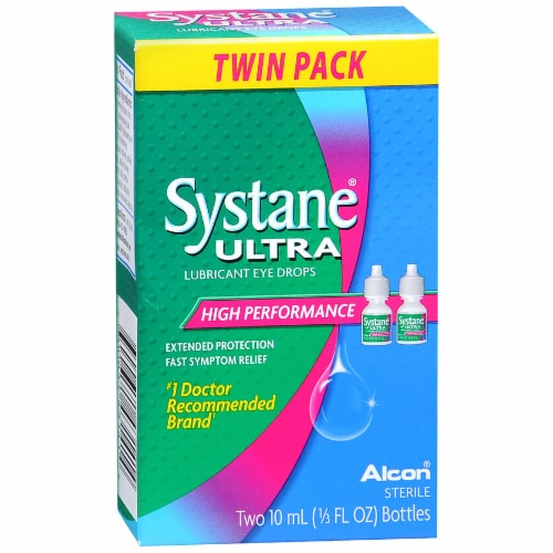 Systane Ultra High Performance Drops Twin Pack Perspective: front