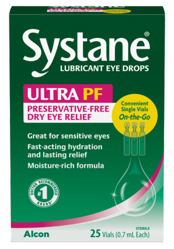 Alcon Systane Ultra Lubricating Eye Drops Perspective: front