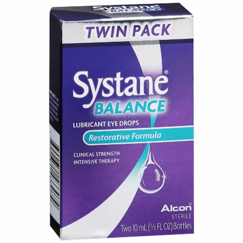 Systane Balance Lubricant Eye Drops Perspective: front