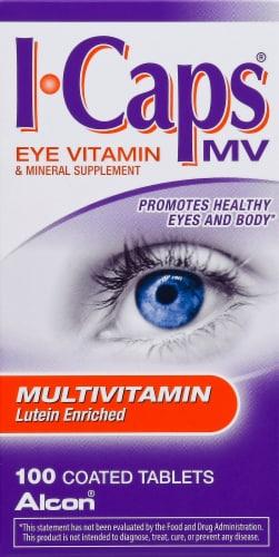 Alcon I-Caps Multi-Vitamin Tablets Perspective: front