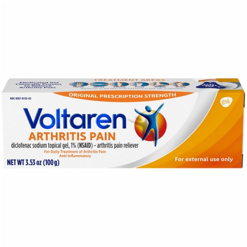 Voltaren Arthritis Pain Topical Gel Perspective: front