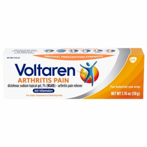 Voltaren Arthritis Pain Relief Topical Gel Perspective: front