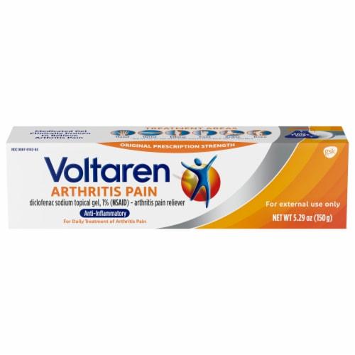Voltaren Arthritis Pain Reliever Topical Gel Perspective: front