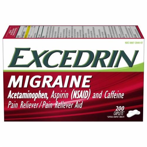 Excedrin Migraine Caplets Perspective: front