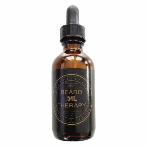 BALLYWHO Beard Oil for Men |Jojoba Grapeseed Oil 2oz (Rejuvenation) Perspective: front
