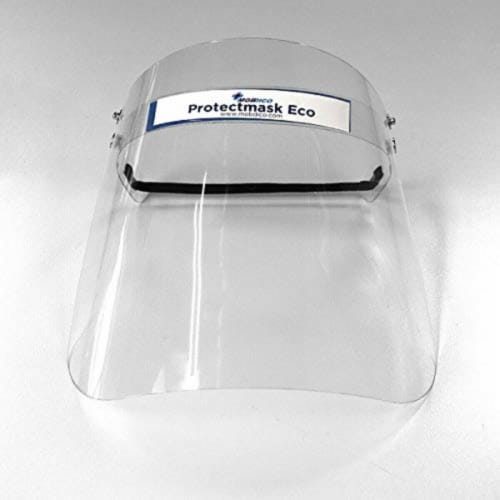 Full FaceShields (Clear - 50 Pieces) Perspective: front